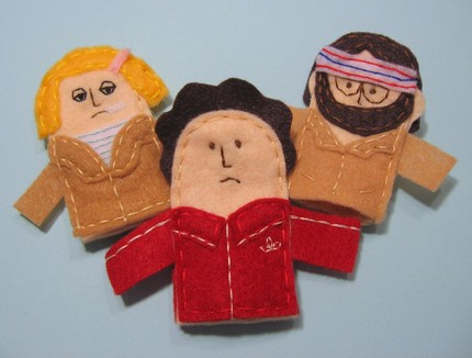 royal tenenbaum finger puppets