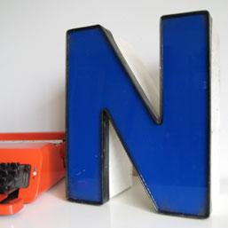 signage_largeblue_letter_n