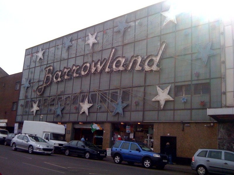 barrowland Wallpaper, wet weather and another chair