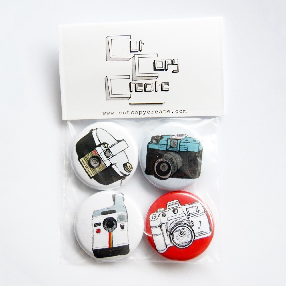 badges Monday's giveaway... Cut Copy Create... and The Spider and The Fly