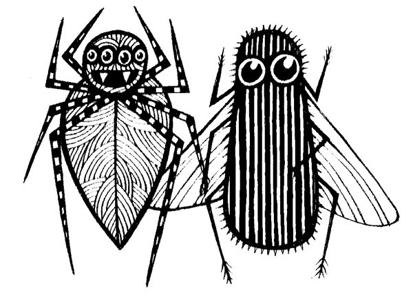 gr spiderfly illus01 Monday's giveaway... Cut Copy Create... and The Spider and The Fly